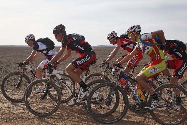 Titan Desert 2012 - knallhartes MTB-Rennen durch Marokko 57