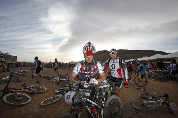Titan Desert 2012 - knallhartes MTB-Rennen durch Marokko 62