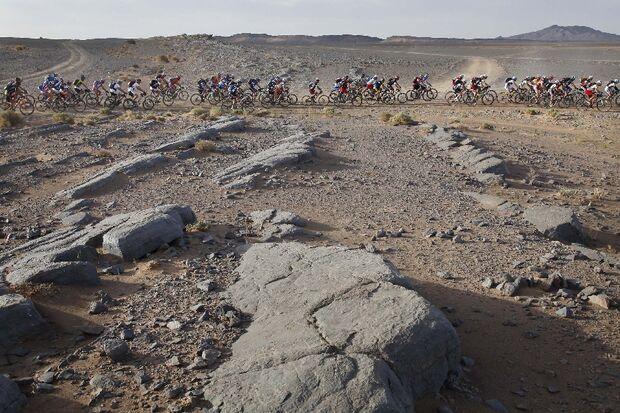 Titan Desert 2012 - knallhartes MTB-Rennen durch Marokko 63