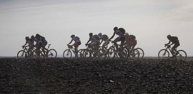Titan Desert 2012 - knallhartes MTB-Rennen durch Marokko 64