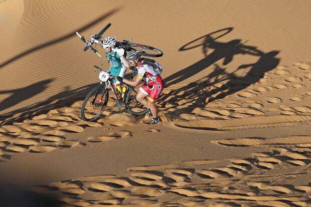 Titan Desert 2012 - knallhartes MTB-Rennen durch Marokko 8