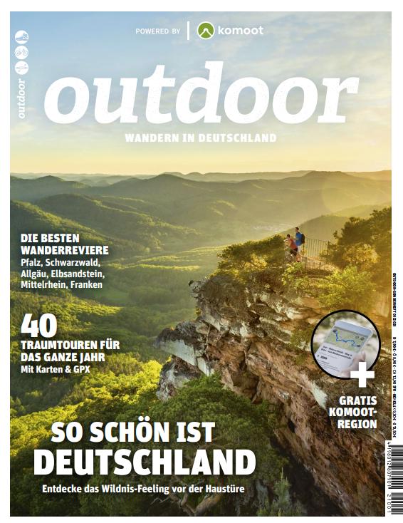 Titelbild OUTDOOR Sonderheft Deutschland- Ort: Pfalz