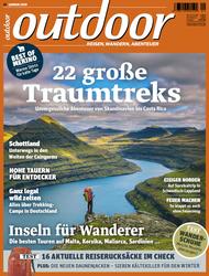 Titelbild der OUTDOOR Ausgabe 01/2020