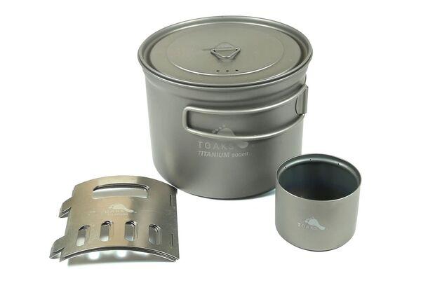 Toaks Ultralight Titanium Cook System CS-04
