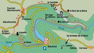 Tour 1: Verwegene Schmugglerpfade am Doubs