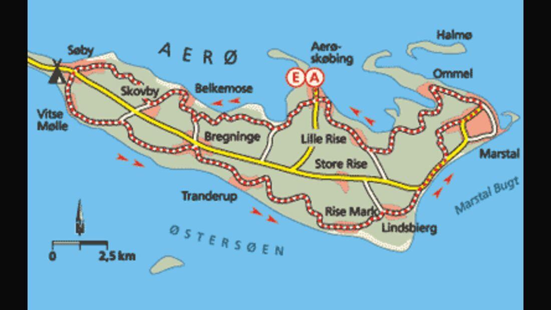 Tour 1: Ærø  - Eine Bilderbuchinsel