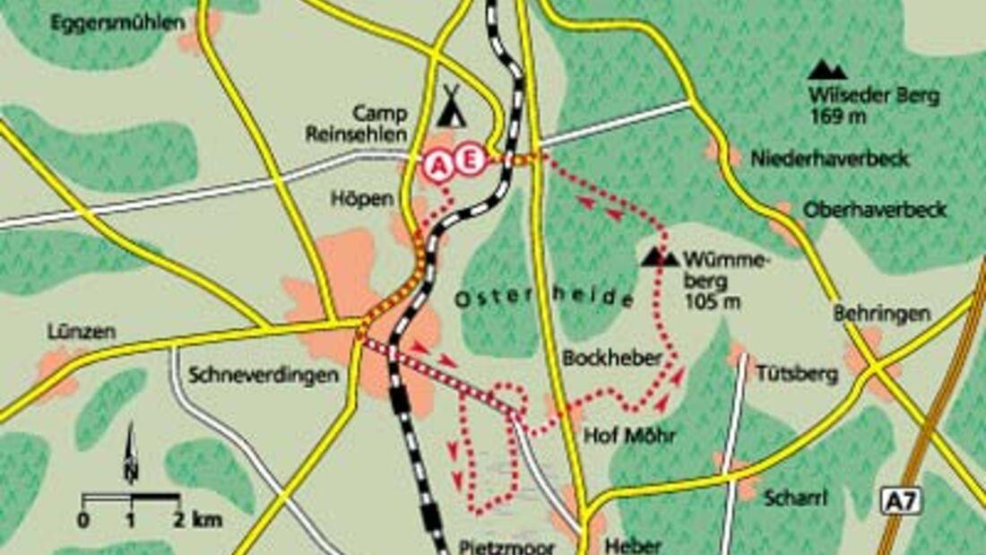 Tour 2: Echte Heidebach-Wildnis