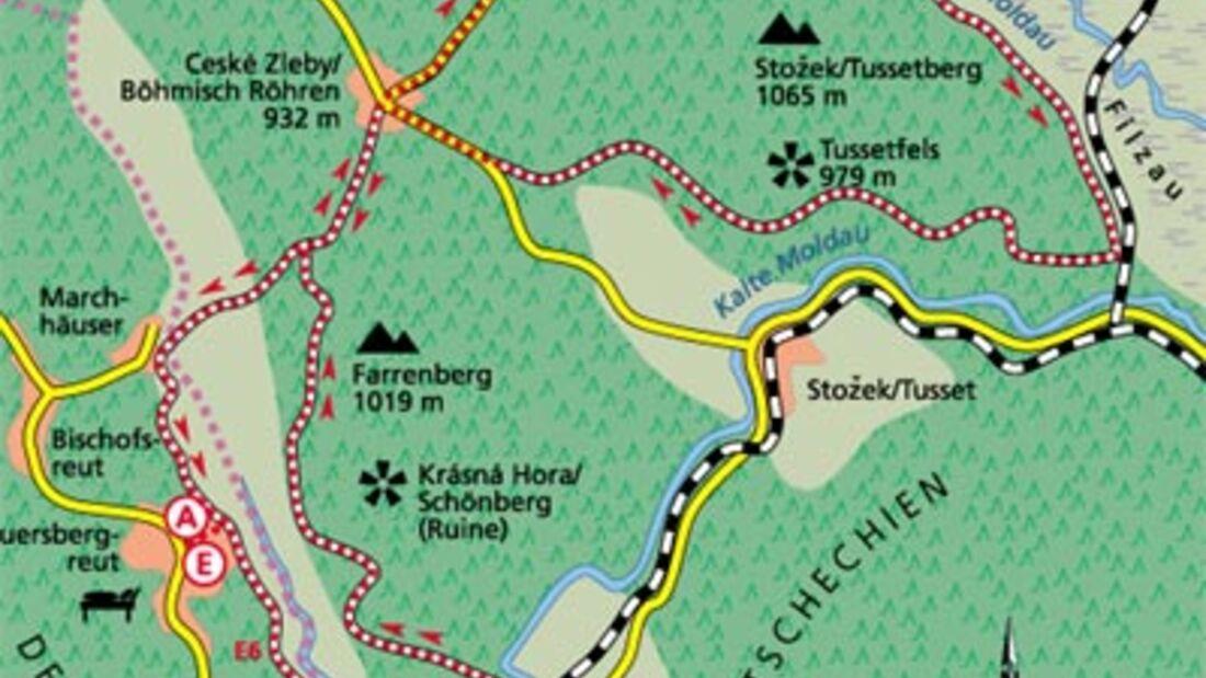 Tour 2: Radtour, fast ohne Grenzen