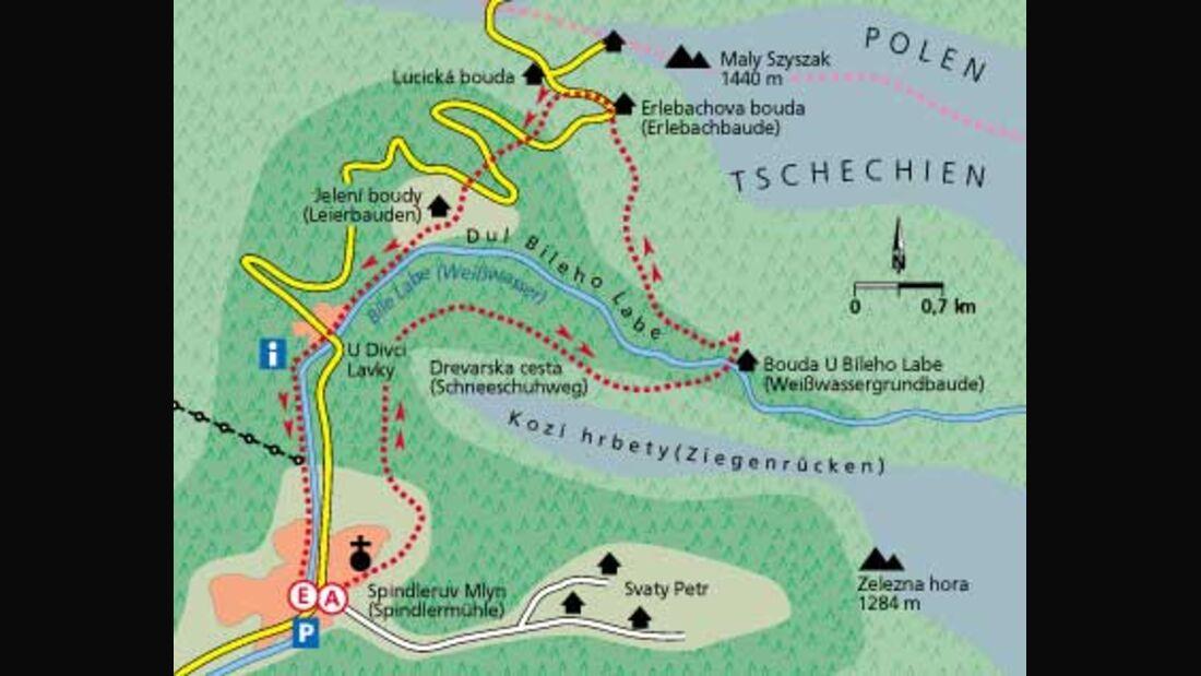 Tour 2: Schneekoppe – Panorama vom Feinsten