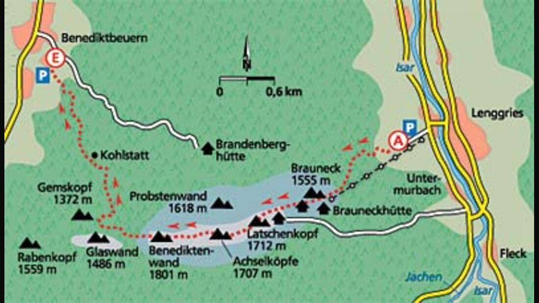 Tour 3: Gipfelbiwak mit Aussicht