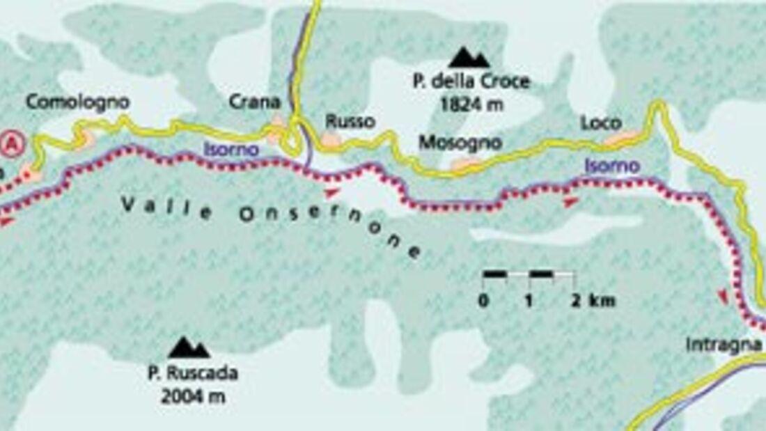 Tour 4: Abenteuer Isorno-Schlucht