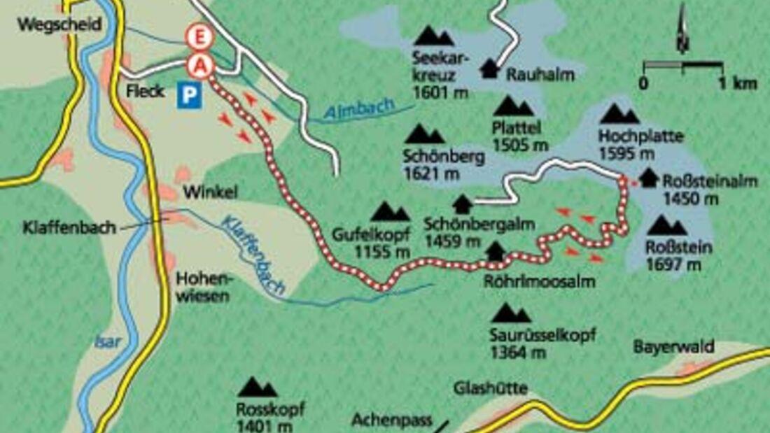 Tour 4: Isarwinkler MTB-Klassiker