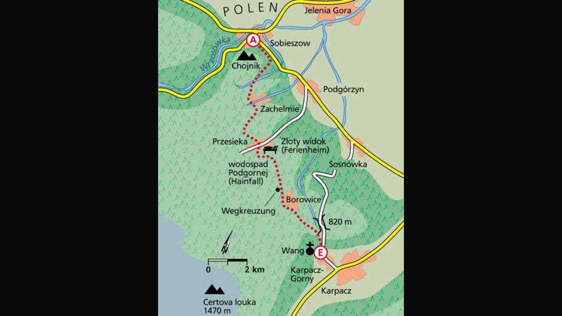 Tour 5: Klein-Norwegen im Osten