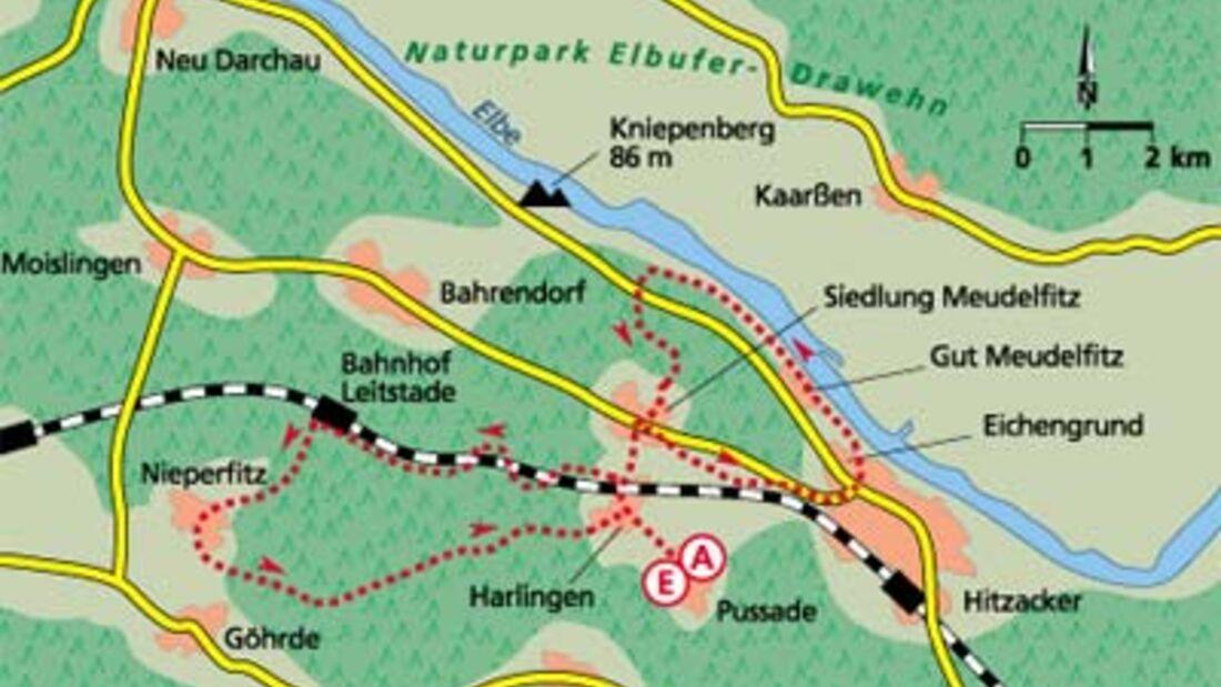 Tour 5: Wilder Westen Wendland