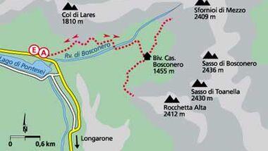 Tour 5: Zum Rifugio Bosconero