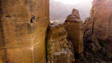 Towers of Tigray: Caroline Ciavaldini klettert in Äthiopien