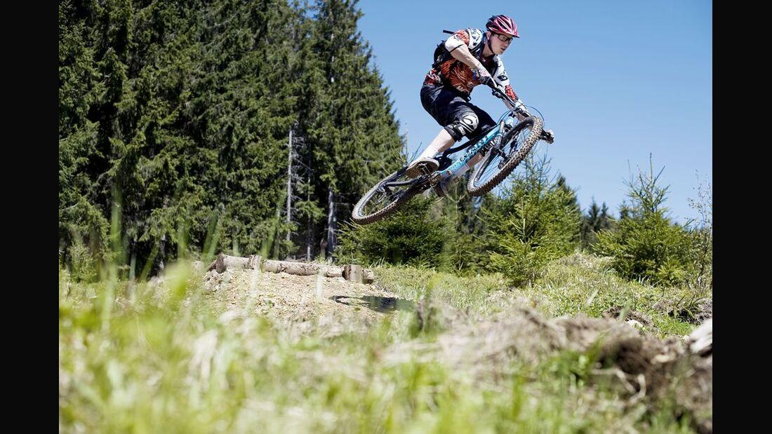 TrailCenter Rabenberg im Erzgebirge - Impressionen 4