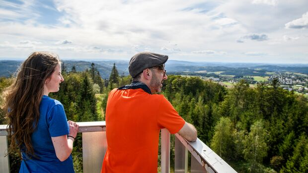Trekking im Frankenwald