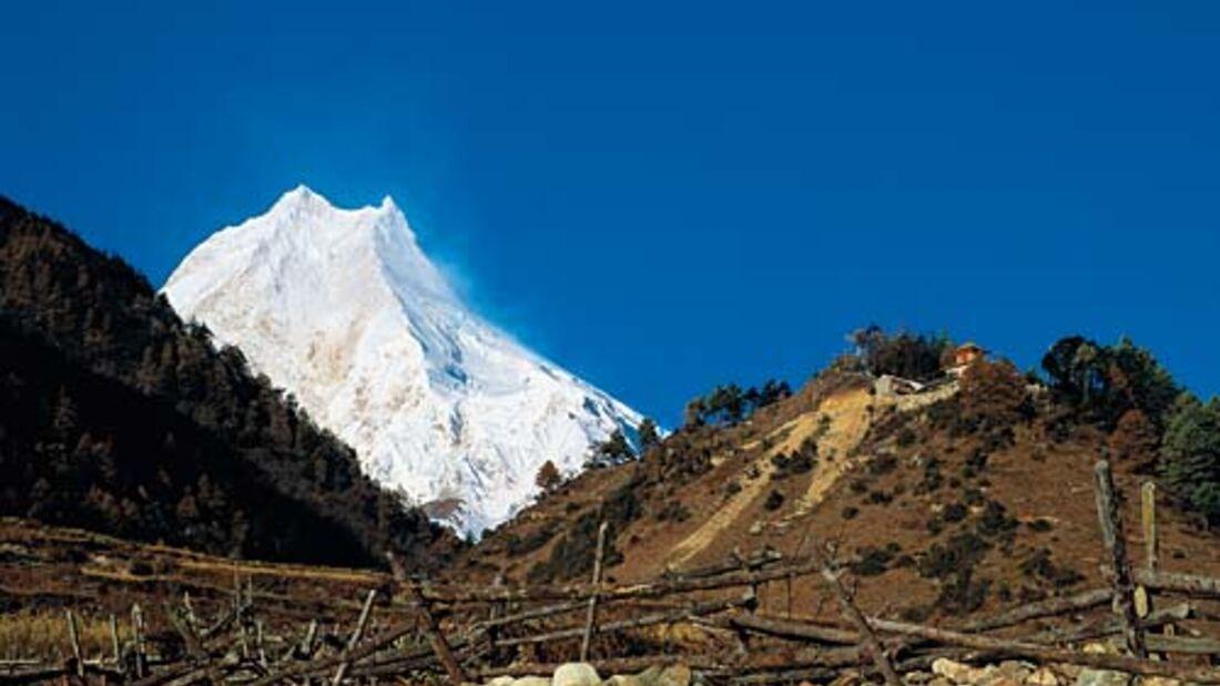 Trekking in der Manaslu-Region