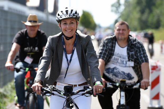 UB 10 Gründe zur Eurobike zu gehen Bettina Wulff