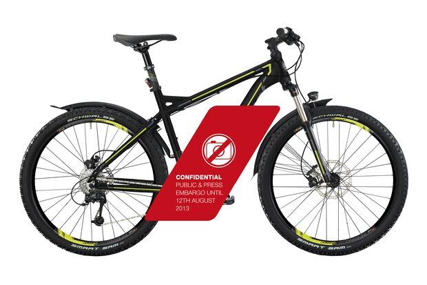 UB Bergamont E-Mountainbike 2014 Metric C7.4 EQ