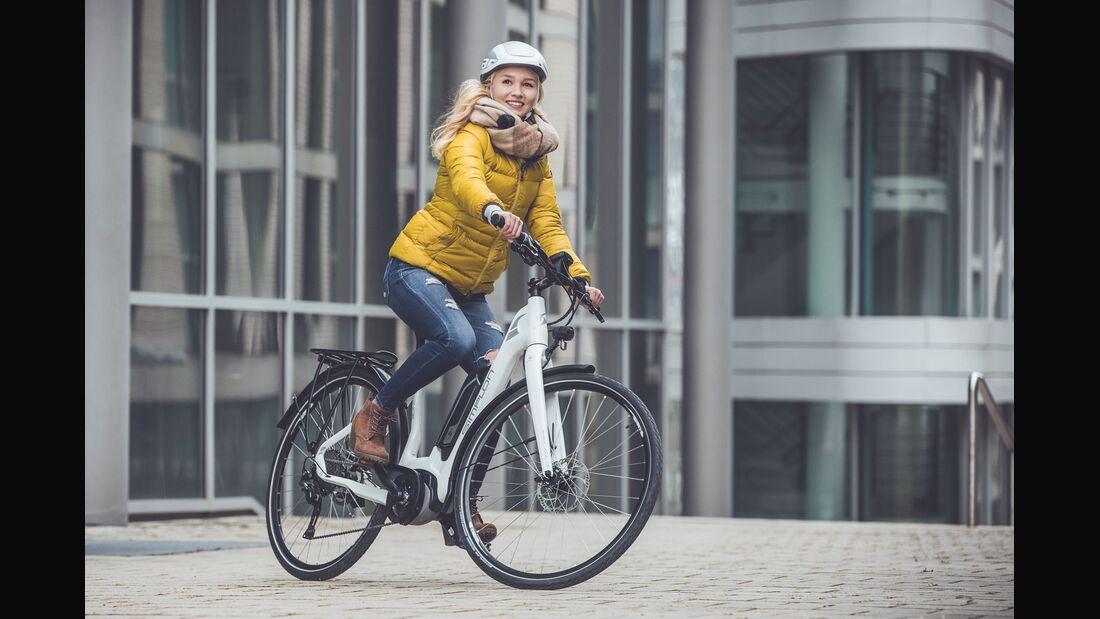 UB E-Bike-Test 2018 Stadt Aufmacherbild