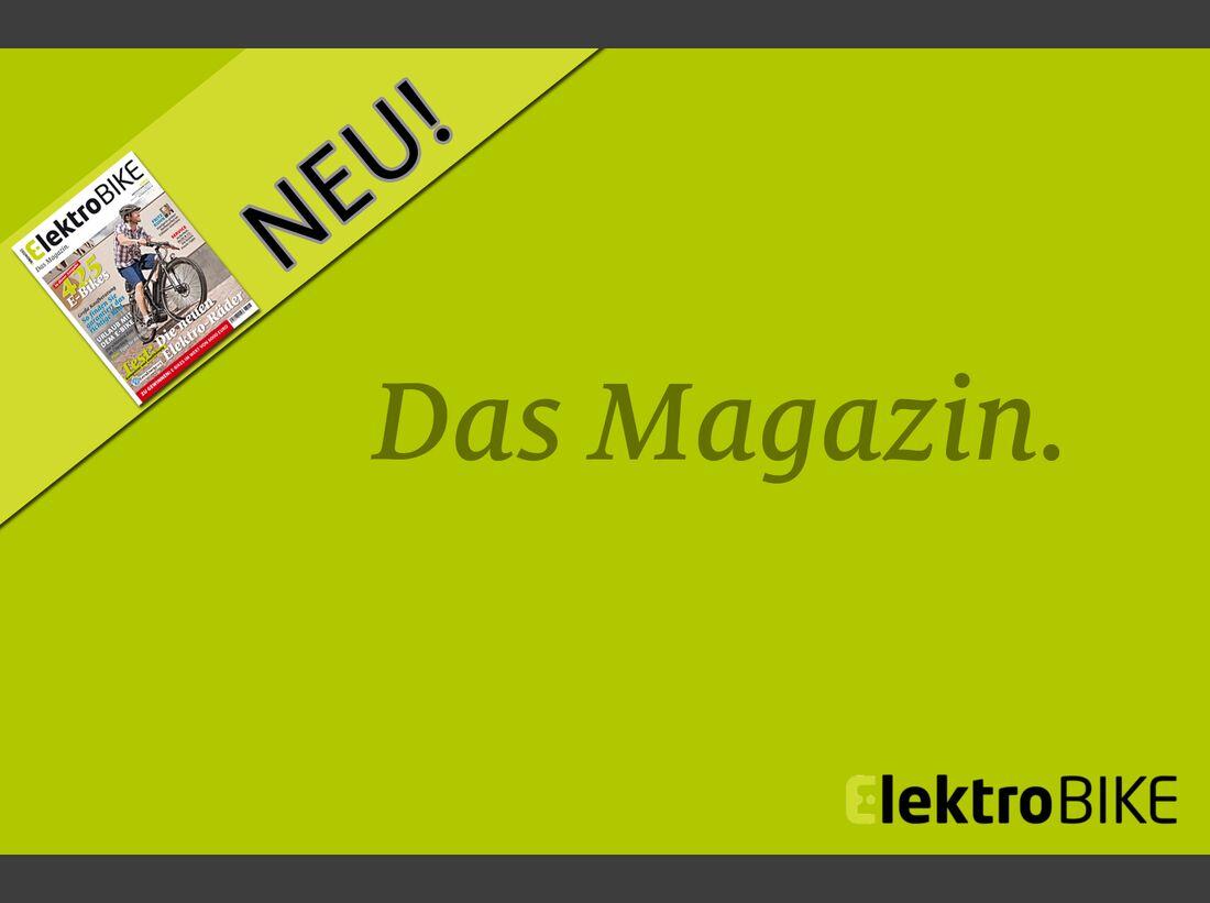 UB Mediashow-Werbung für ElektroBIKE