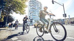 UB Pendeln Stadt Arbeit E-Bike