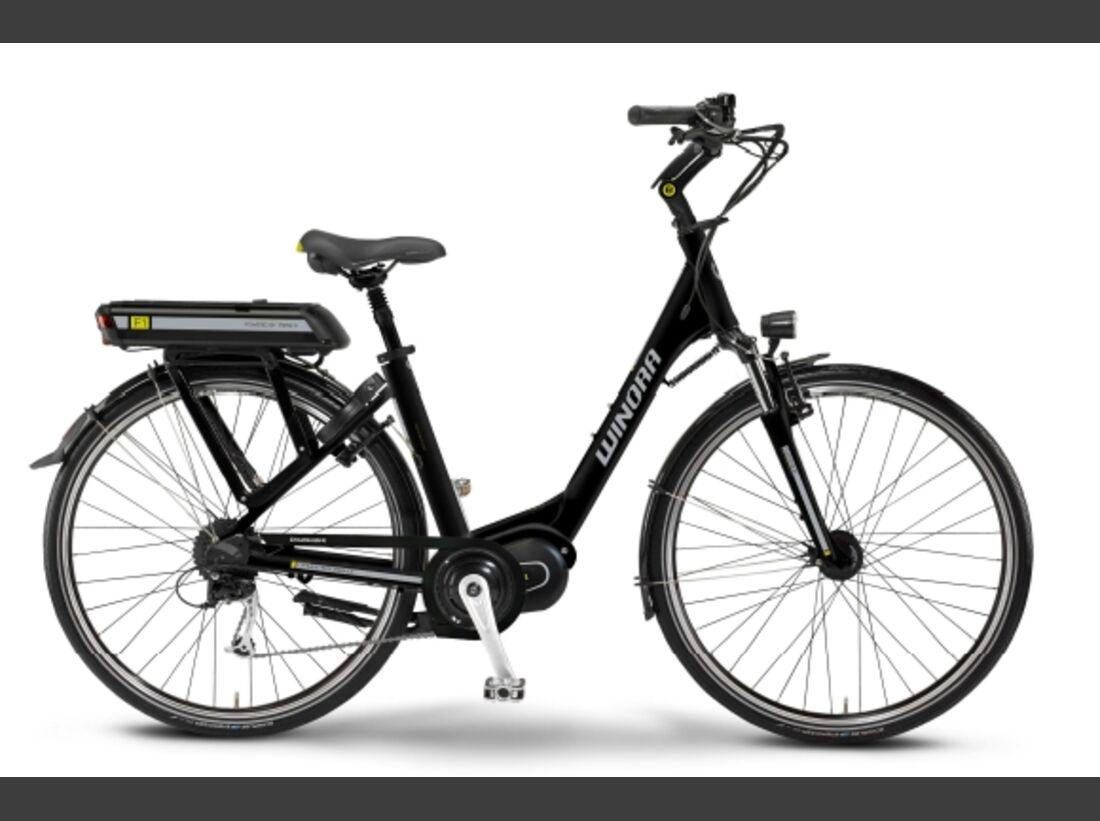 UB neuer Mittelmotor von TranzX und Winora Neuheiten 2013