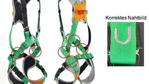 Überprüfungsaufruf SKYLOTEC Klettergurt SAM 2.0