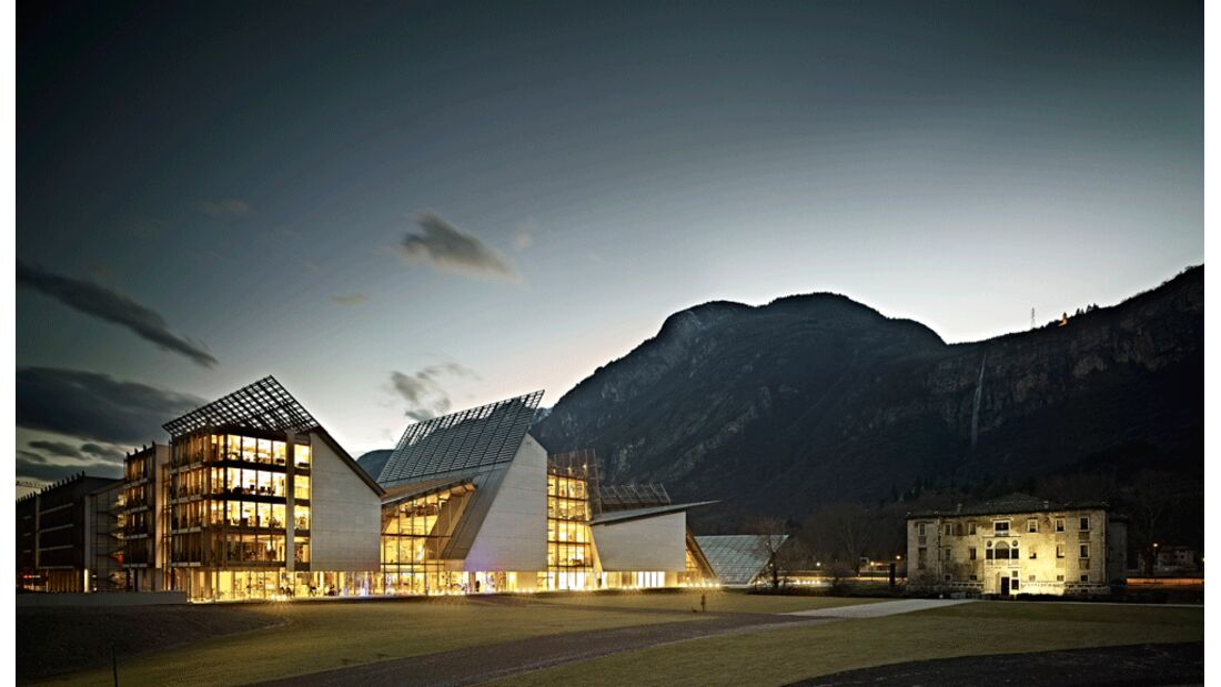 Valle dell'Adige - Trento - Muse - Struttura