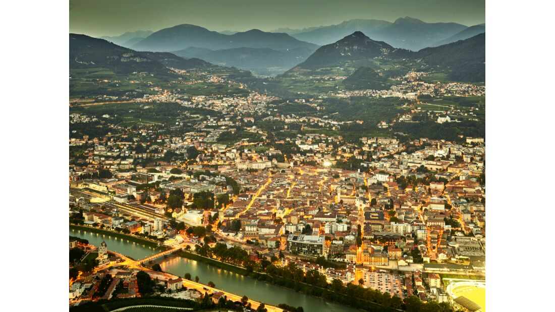 Valle dell'Adige - Trento - Panorama da Sardagna
