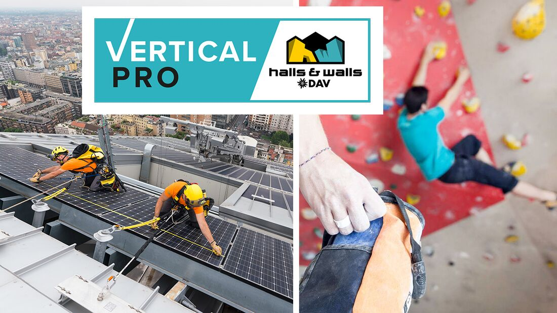 Vertical Pro, Messe für Kletterhallen & Höhenarbeiten