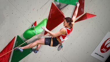 Victoria Meshkova, Europameisterin im Lead, Bouldern und Combined 2020