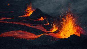 Vulkanausbruch La Réunion