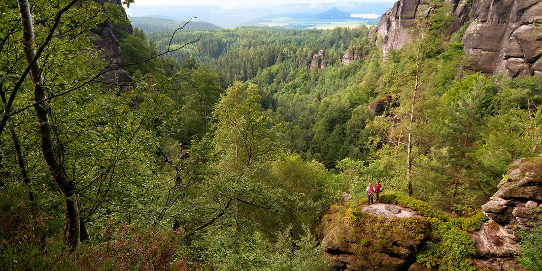 Wandern im Elbsandsteingebirge