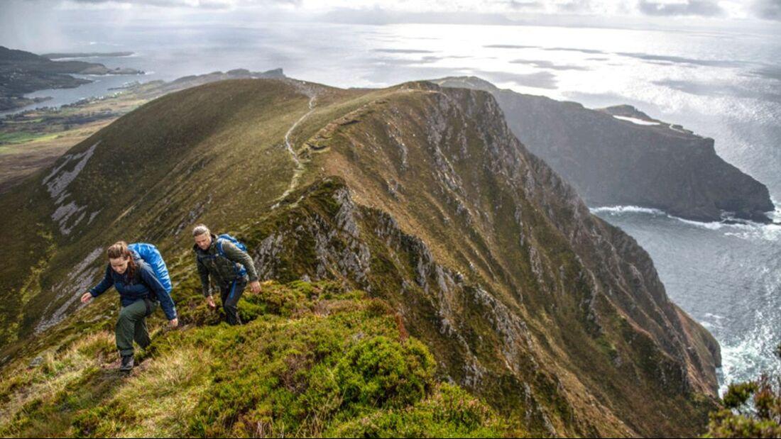Wandern im Nordwesten Irlands - Slieve League Cliffs
