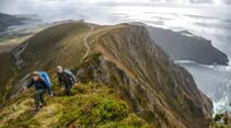 Wandern im Nordwesten Irlands - Slieve League Cliffs