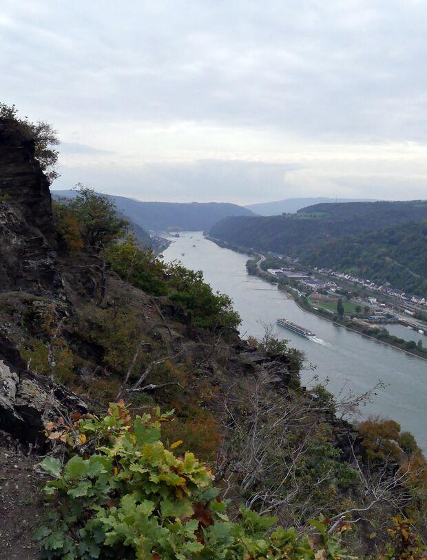 Wandern im Oberen Mittelrheintal