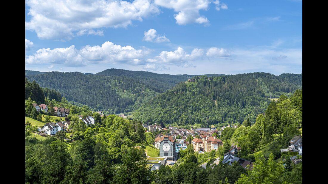 Wandern in Baden-Württemberg: Schramberg