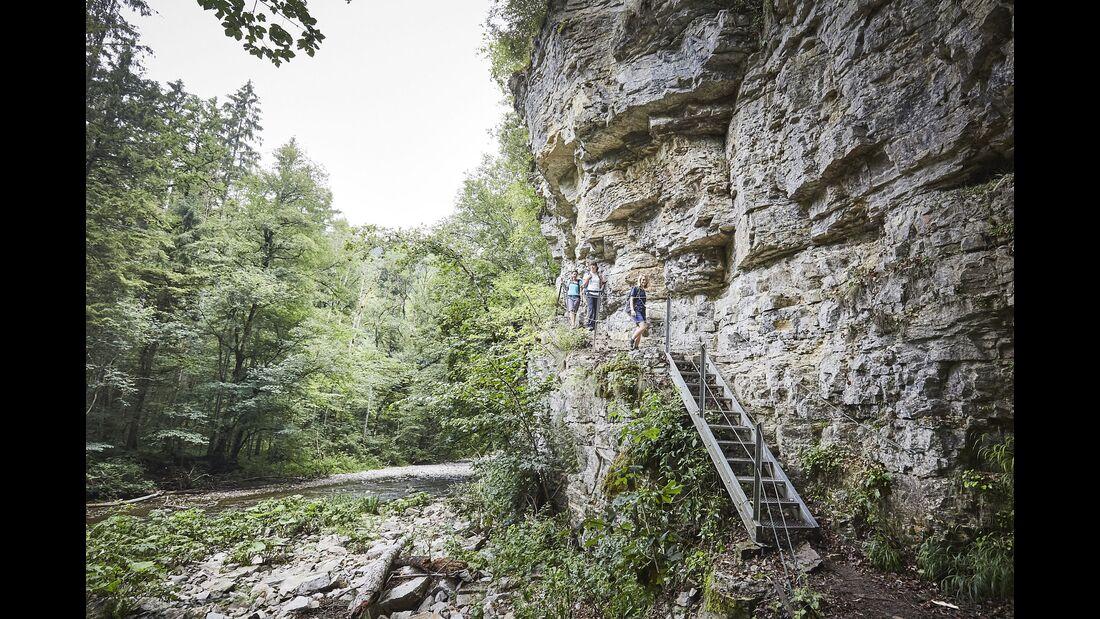 Wandern in Baden-Württemberg: Wutschschlucht