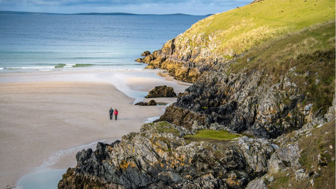 Wandern in Donegal - Irland