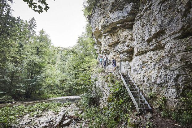 Wandern in der Wutachschlucht, Hochschwarzwald