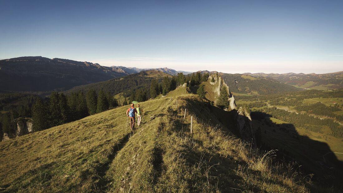 Wandertrilogie Allgäu, Wanderrouten