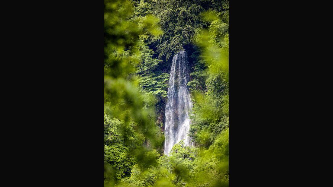 Wasserfall auf der Schwäbischen Alb