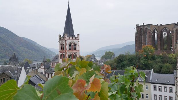 Weinwandern auf dem Rheinburgenweg - Bacharach