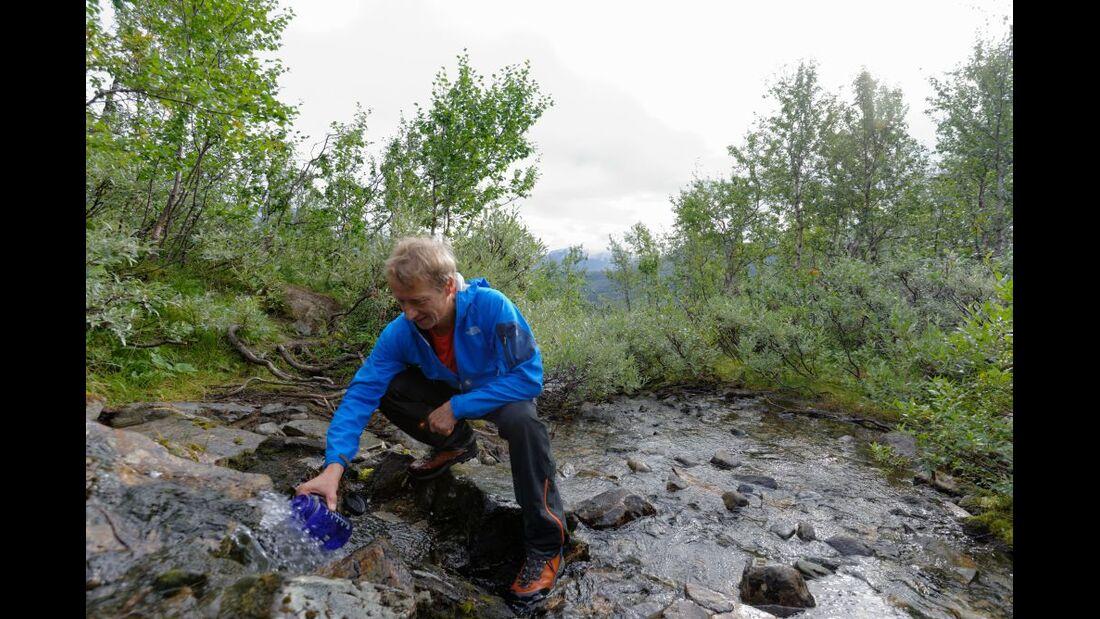 Wildnis-Trekking im Sarek 11