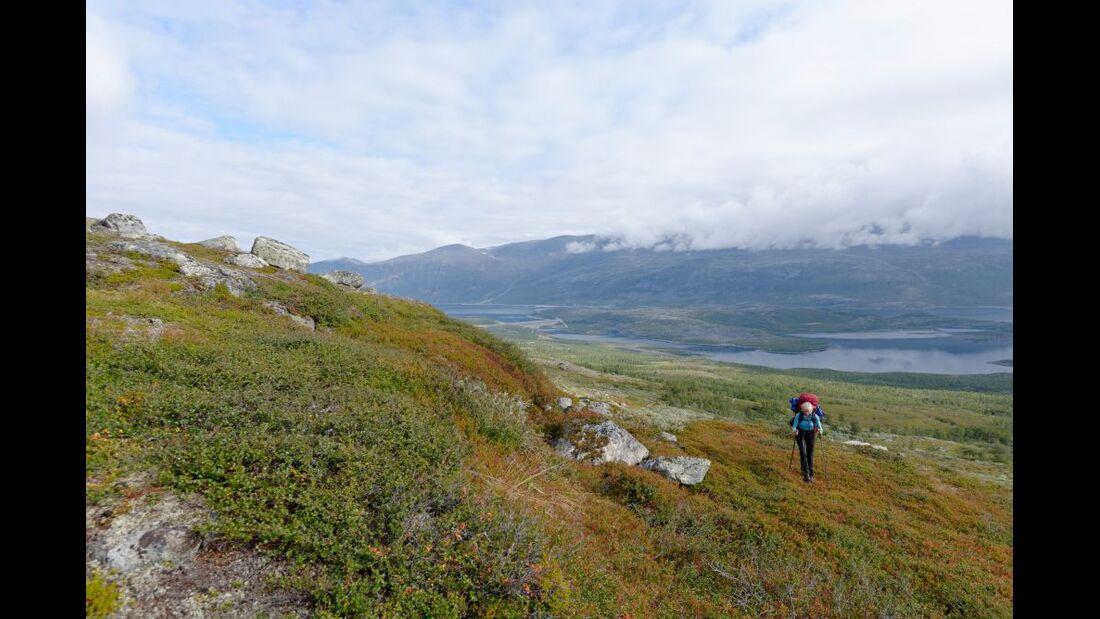 Wildnis-Trekking im Sarek 13
