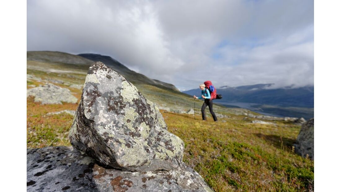 Wildnis-Trekking im Sarek 16