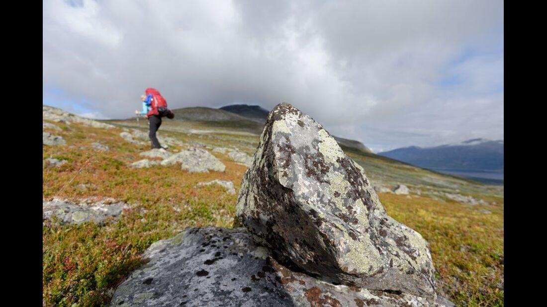 Wildnis-Trekking im Sarek 17